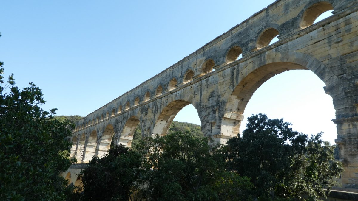 April 20, 2018          Pont du Gard