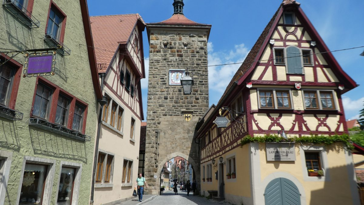 May 24, 2019 Rothenburg ob der Tauber GE