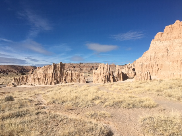 February 5, 2020 Cathedral Gorge SP
