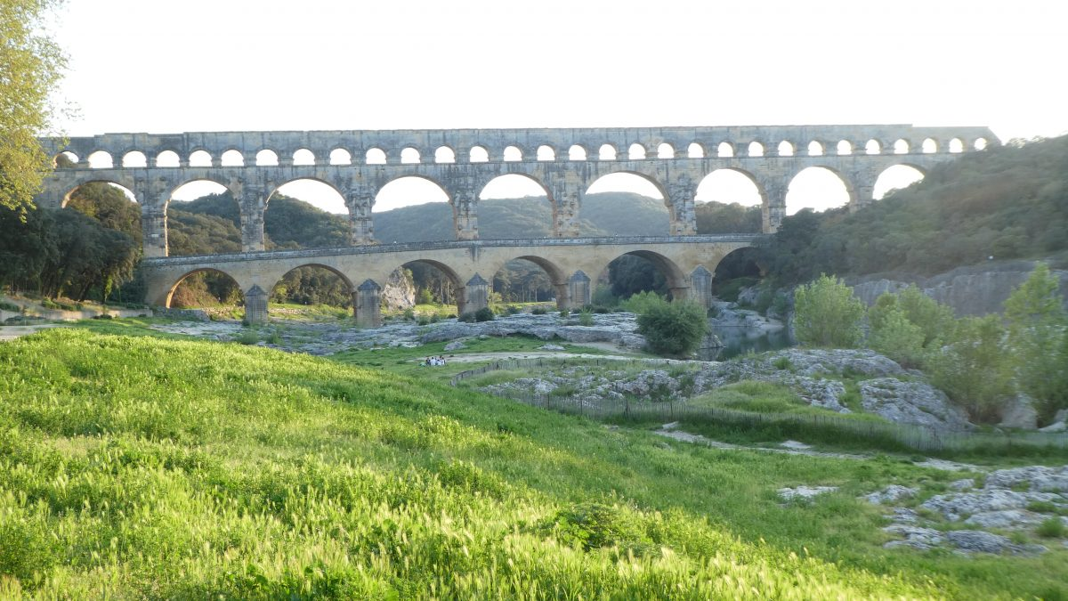 April 20, 2018          Pont du Gard FR